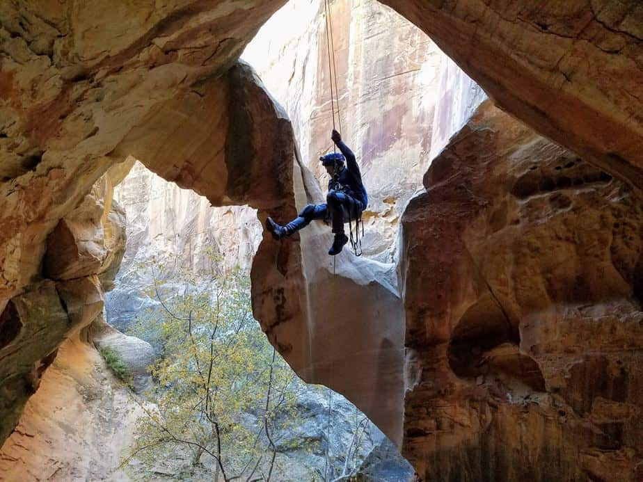 Rappelling Cassidy Arch